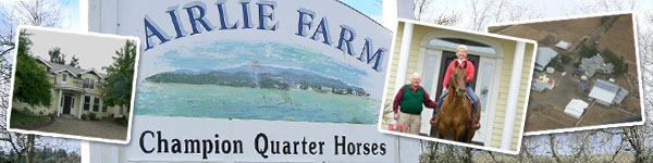 Airlie Farm - Home of Quarter Horses